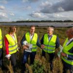 From left to right: David Verhasselt (BNP Paribas) , Evelien Stevens (BNP Paribas), Hans Meeuwis (CEO Royal Cosun), Geert Lippens (CEO BNP Paribas Nederland) and Hans Schuil (CFO Royal Cosun)